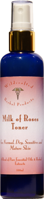 Milk of Roses Natural Facial Skin Toner